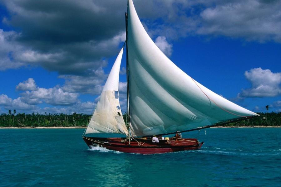 Pesca en un velero (República Dominicana)