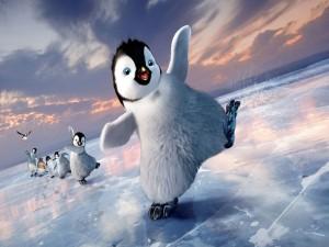 """Divertidos pingüinos de la película de animación """"Happy Feet 2"""""""