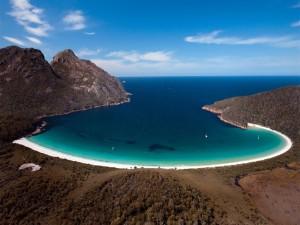 Bahía de la Copa de Vino, en Tasmania