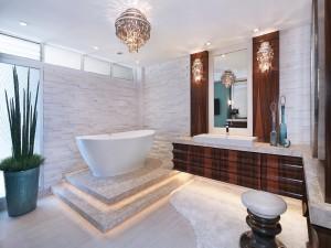 Lujoso cuarto de baño