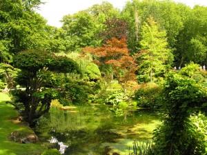 Jardines del Castillo de Courances (Francia)
