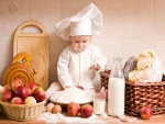 Bebé cocinero