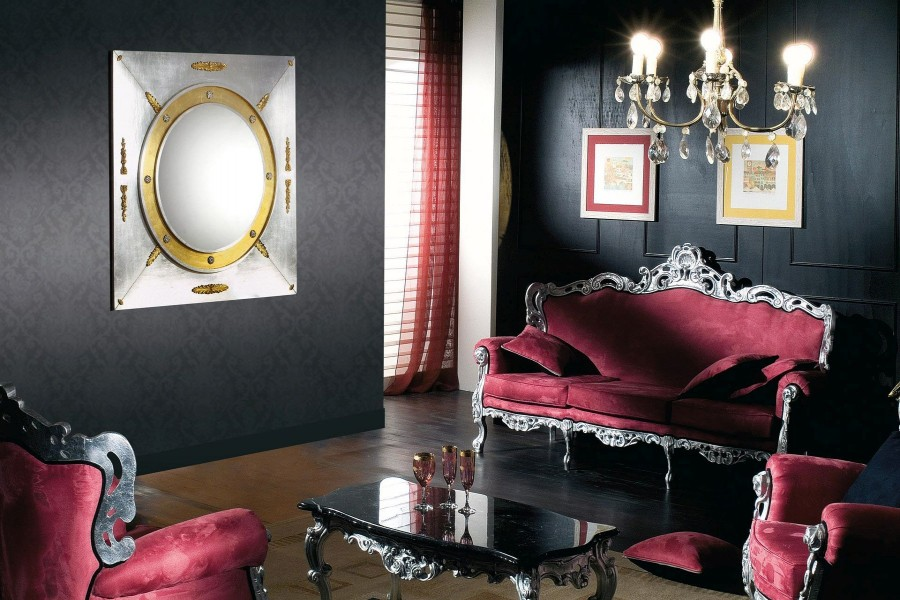 Muebles de época de color rosa