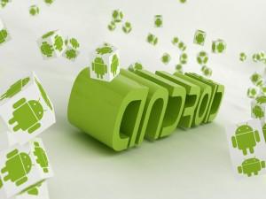 Logotipo verde de Android