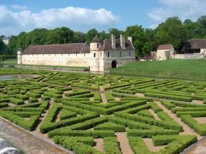 Los jardines sobre el agua (Dominio de Villarceaux, Francia)