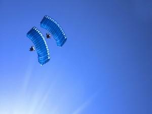 Planeadores en el cielo