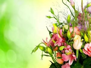 Multicolor ramo de flores