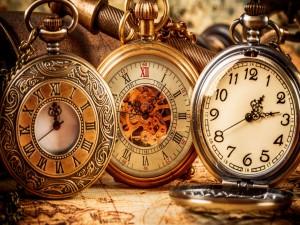 Relojes antiguos con cadena