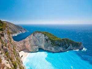 Acantilados en Grecia