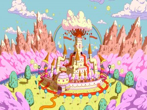 Castillo en Adventure Time