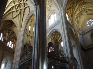 Interior de la Catedral de Santa María (Segovia)