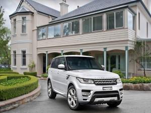 Range Rover Sport plateado