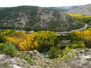 Naturaleza en Alcalá del Jucar (Albacete, España)
