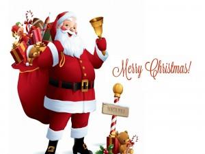 Santa Claus y los regalos para Navidad