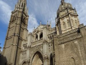 Fachada principal de la Catedral de Santa María de Toledo