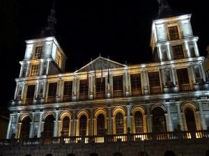 Fachada principal del Ayuntamiento de Toledo