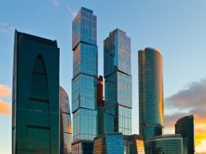 Rascacielos en Moscú