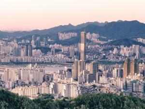 Vista de Seúl  (Corea del Sur)
