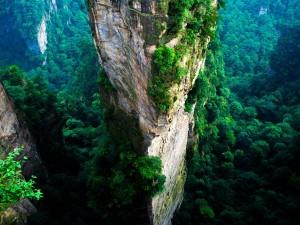 Vista desde Wulingyuan (China)