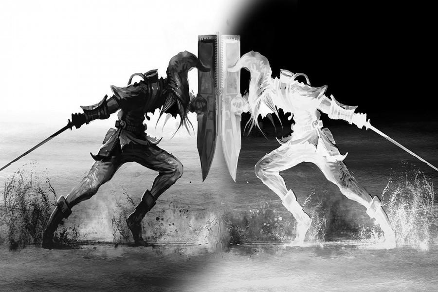 Combate en Legend of Zelda