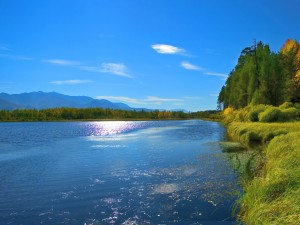 Pintoresco lago