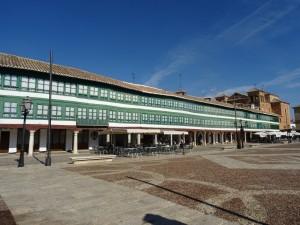 Plaza Mayor de Almagro (Ciudad Real, España)