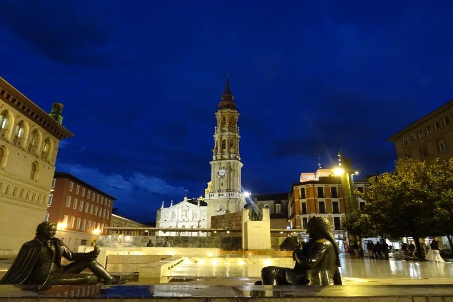 Plaza del Pilar y Catedral del Salvador (Zaragoza)