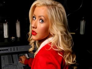La bella actriz y cantante Christina Aguilera