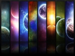 Pequeñas porciones del Universo