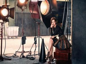 Shailene Woodley en un estudio