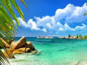 Playa en Aruba