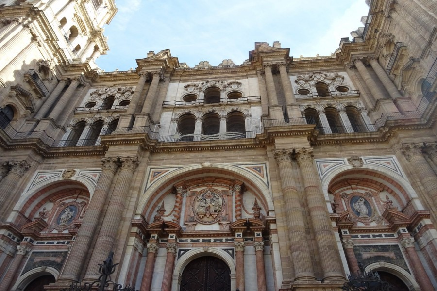Basílica de la Encarnación, en Málaga (España)