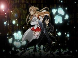 Asuna y Kirito (Sword Art Online)