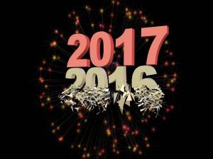 Se va el viejo año 2016... y llega el nuevo año 2017