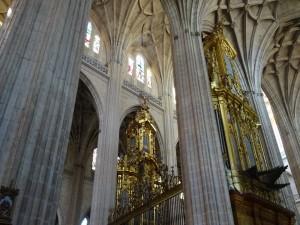 Interior de la Catedral de Segovia