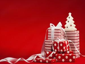 Cajas de regalos de Navidad