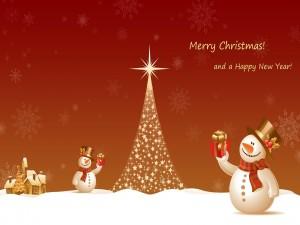 Feliz Navidad y Feliz Año Nuevo