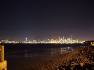 Luces nocturnas de Seattle (Estados Unidos)