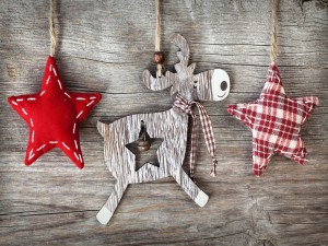 Adornos de Navidad hechos a mano