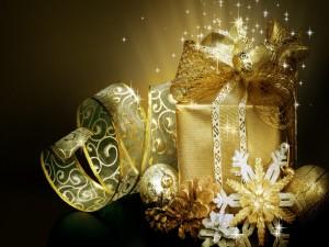 Caja de regalo de Navidad