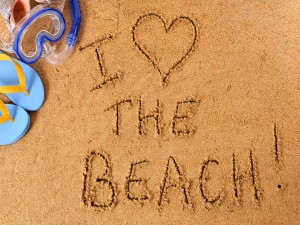 Me gusta la playa