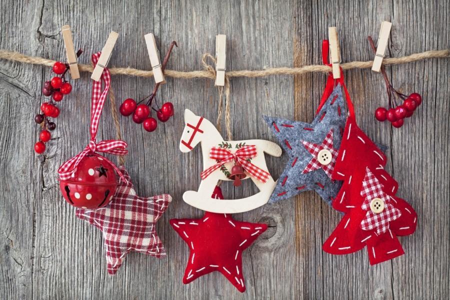 Magnífica decoración de Navidad