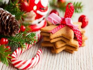 Galletas especiales para las fiestas navideñas