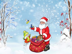 Los amiguitos de Papá Noel
