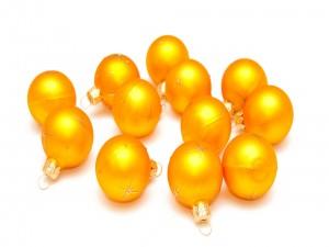 Bolas de oro para árboles de Navidad