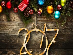 Decoración para el nuevo año 2017
