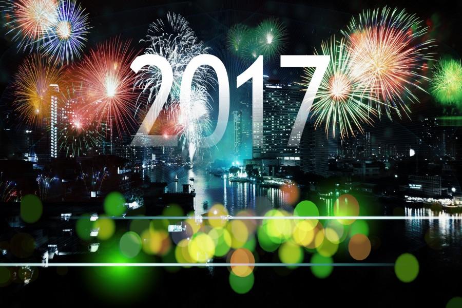 Festejando la llegada del Nuevo Año 2017