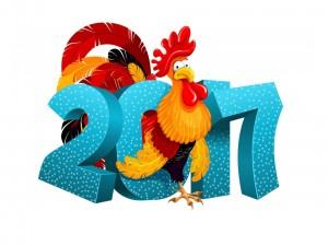 2017, Año del Gallo en el horóscopo chino
