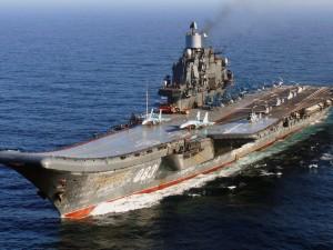 "El portaaviones ""Almirante Kuznetsov"""